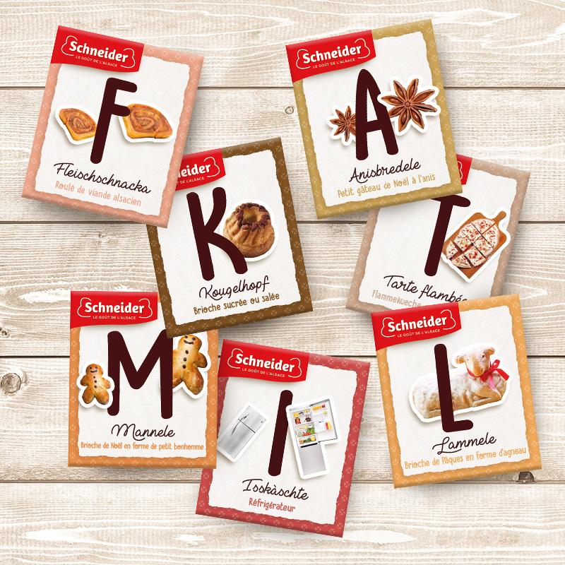 Un magnet à collectionner dans chaque Flamm'kit !